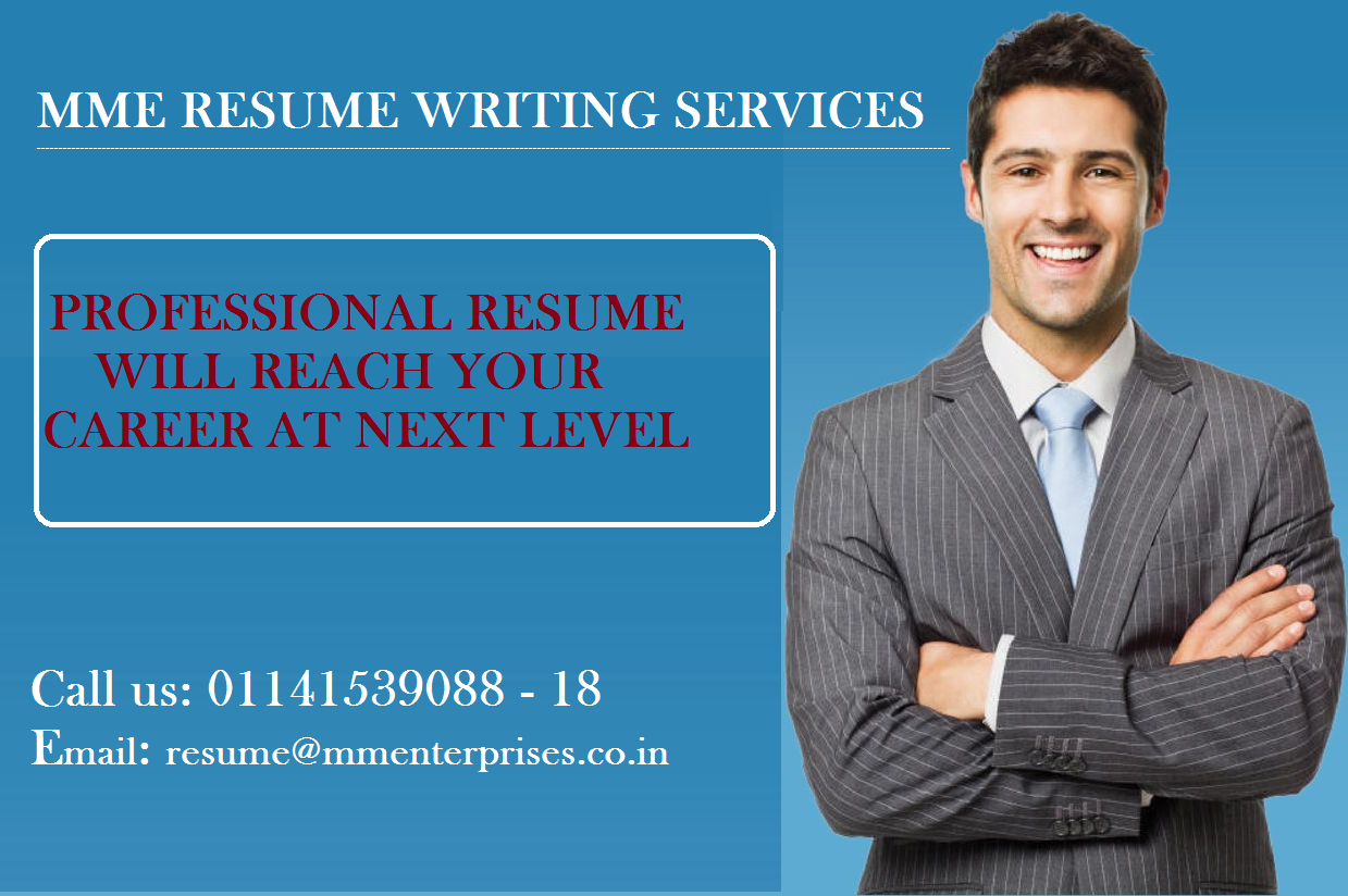 MME Is One Top Job Consultants. We Are Offering Best Professional Resume  Writing Services At The Affordable Prices. For More Details Call Us At 011  Image ...