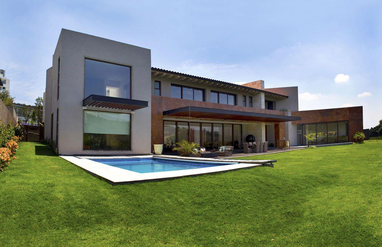 Casa Bosque Real 4 Puntos / MAZ Arquitectos (© Arturo Chávez ...
