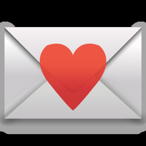 Love Letter Emoji Geburtstagsfeier Feier