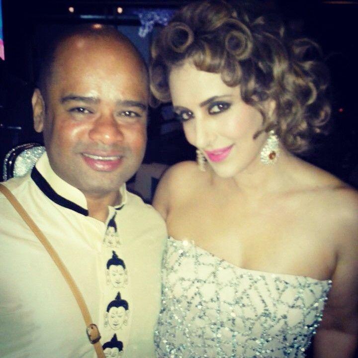 With Pria Kataaria Puri