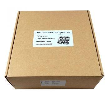 PETG Filament 1,75mm 1kg transparent klar ✓ zertifiziert ✓ Premium Qualität ✓ attraktiver Preis ✓ Blitzversand aus Berlin ✓ viele andere Materialien vorhanden