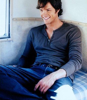 Jared - cutie, look at those dimples!