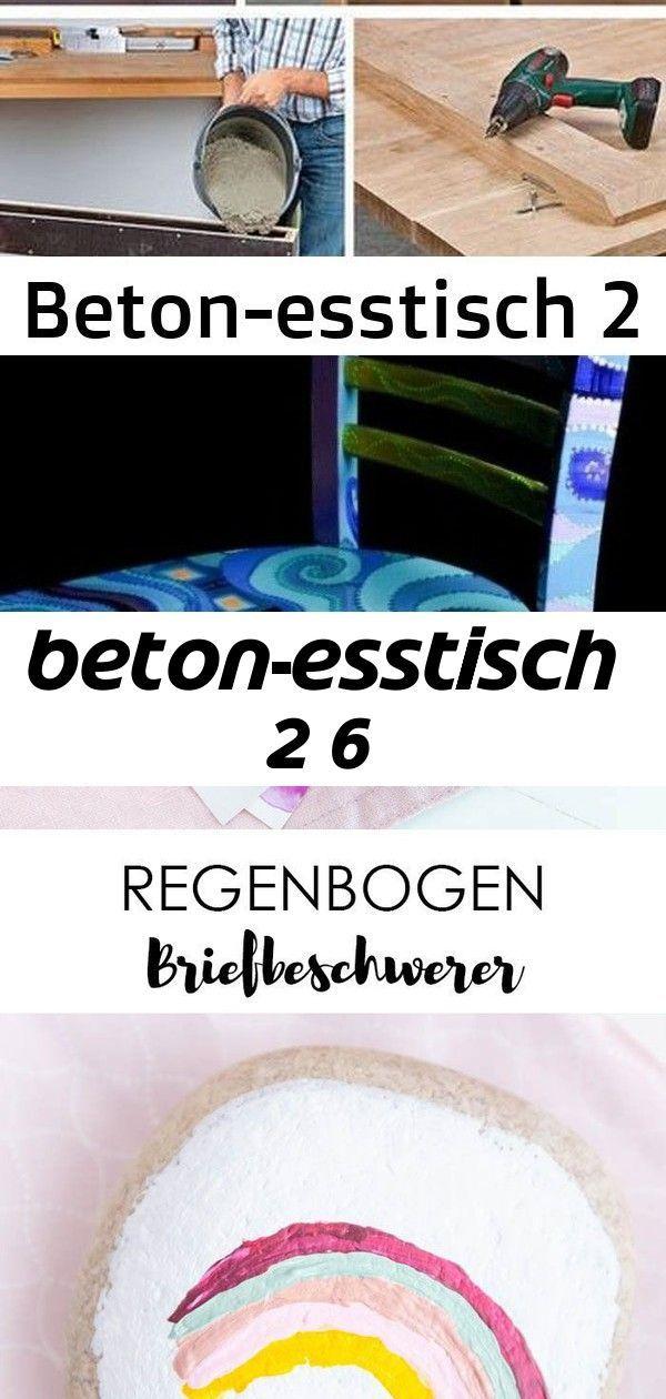 Betonesstisch 2 6, Betonesstisch, DIYDeo, DIY Deo