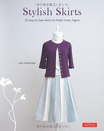 Stylish Skirts Japanese Sewing Patterns. Love Japanese fashion? Learn to sew Japanese sewing patterns at www.japanesesewingpatterns.com