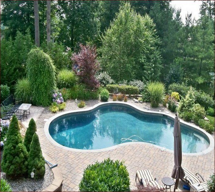 L Shaped Swimming Pool Layouts: Swiming Pool Design Small Yards