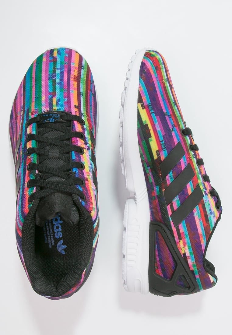 The Best Adidas Originals Zx Flux Trainers Mens White/Black/Bluebird Online Store
