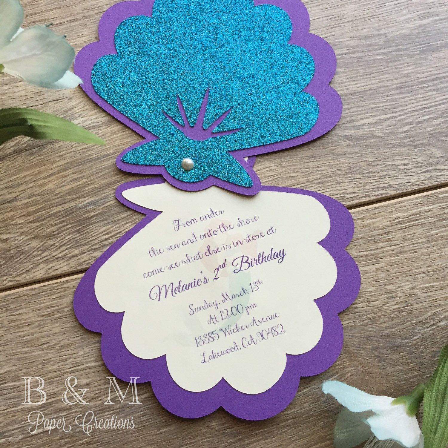 wording ideas forst birthday party invitation%0A Fiestas Infantiles          Ideas de Cumplea  os       Mermaid Birthday InvitesMermaid  Party