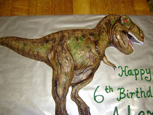 Tyrannosaurus Rex Cake Birthdays and Birthday cakes