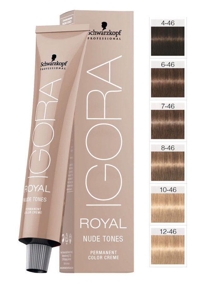 Schwarzkopf Igora Royal Nude Tones Hair Color 60ml Igora Royal