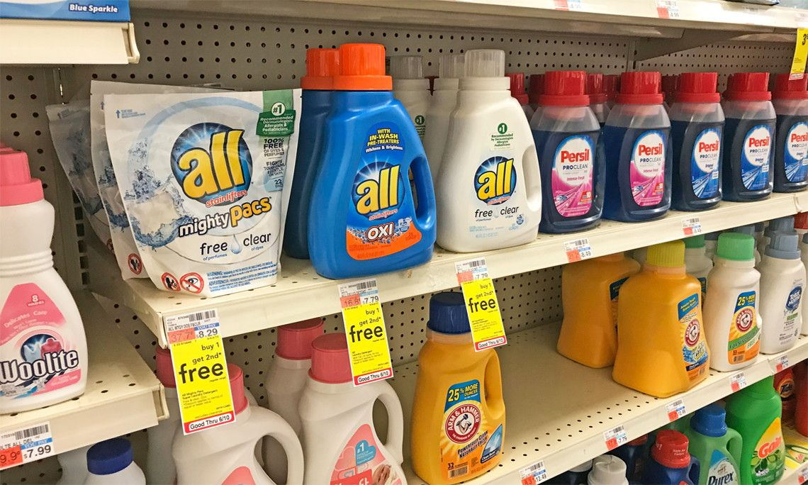 Save Over 9 00 On All Laundry Detergent At Cvs Laundry