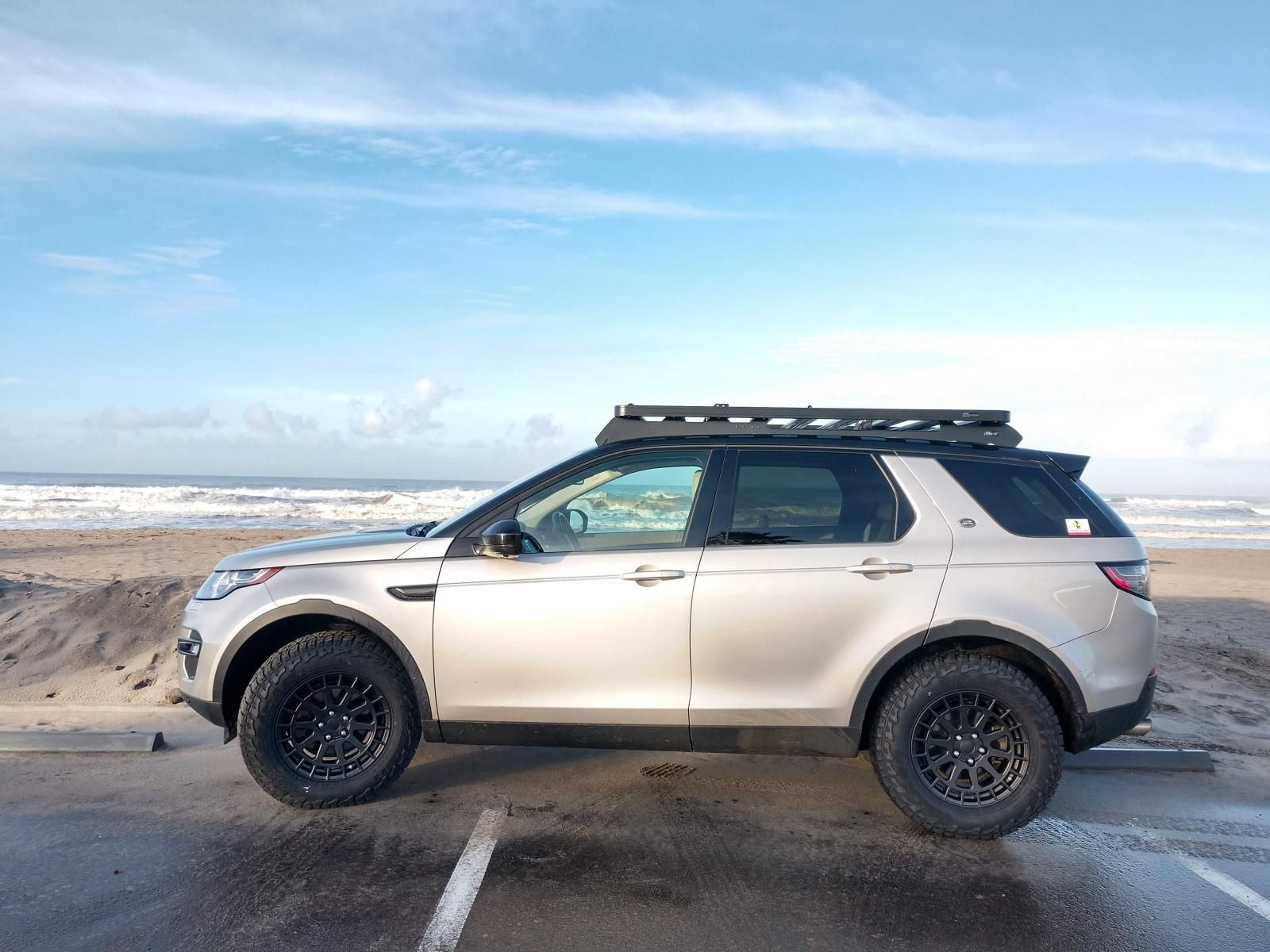 Range Rover Discovery Sport Lifted Bf Tires Google Search Range Rover Discovery Rover Discovery Land Rover Discovery