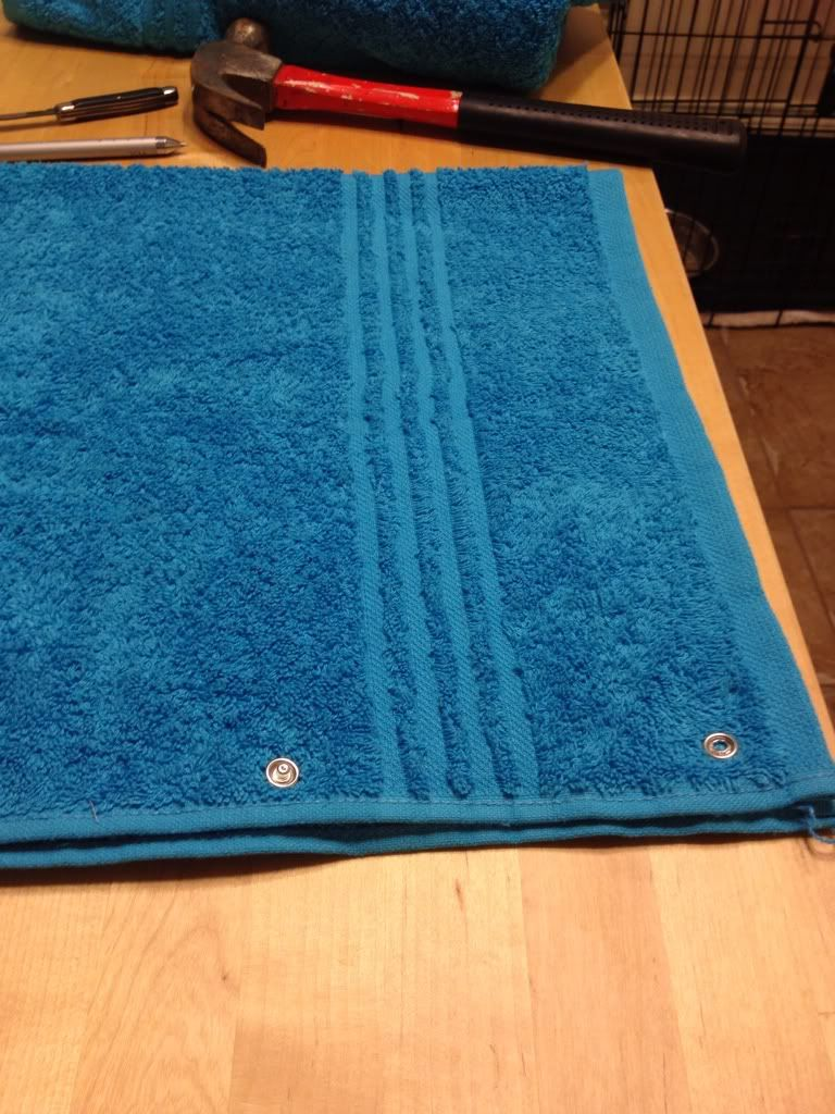 Home made towel seat covers North American Motoring