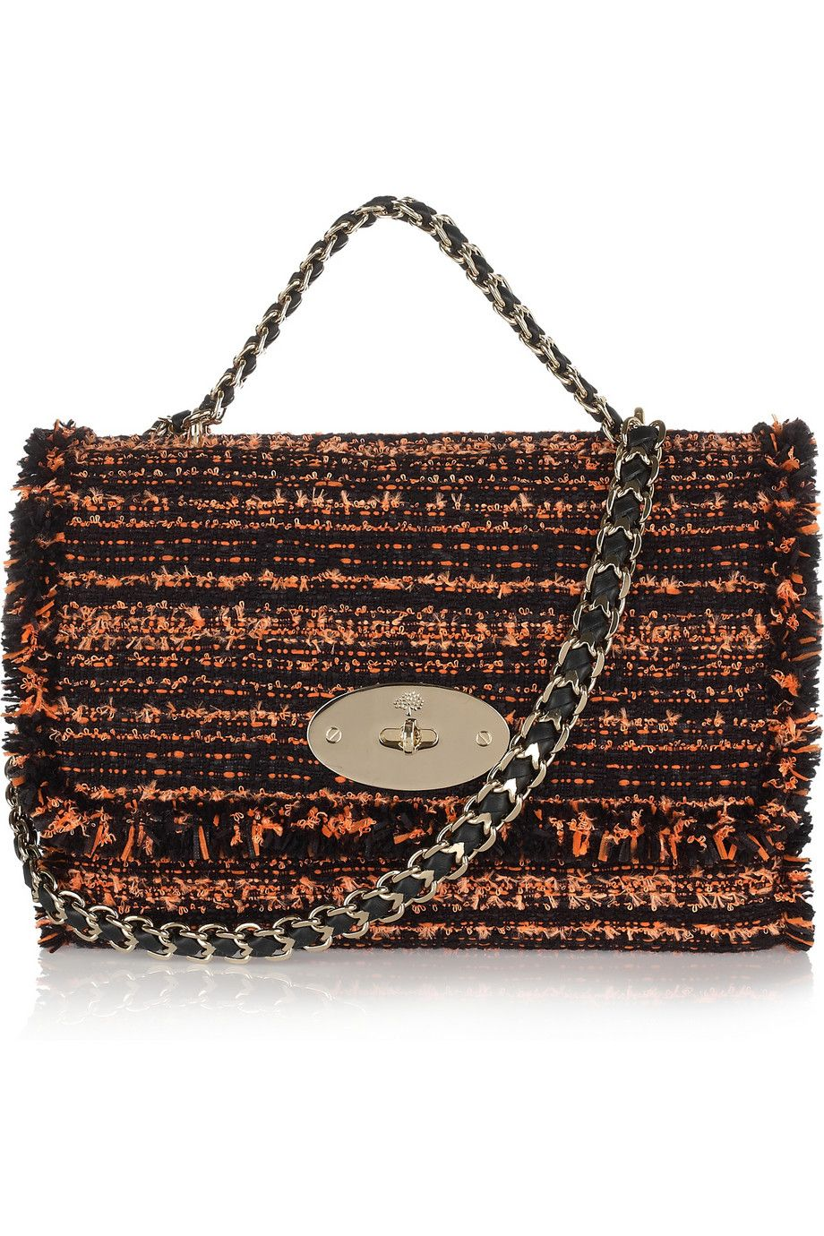 e23e62a7d66 Mulberry Lily boucle tweed shoulder bag 1 580x870 | Bags and ...