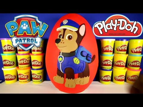 Paw Patrol Chase Stop Motion Play Doh claymation plastilina