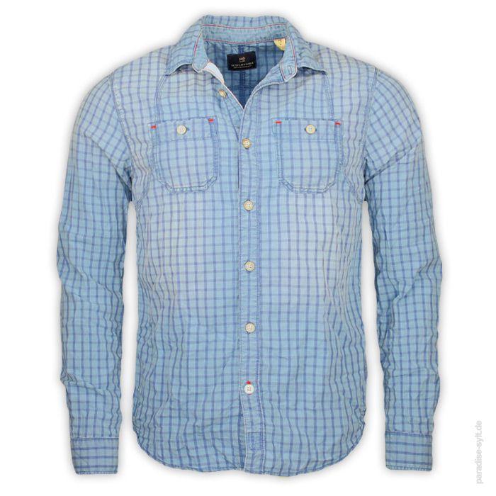 Hemd 1/1 Man von Scotch & Soda #paradise #sylt #online #shopping #shop #scotchsoda #scotch