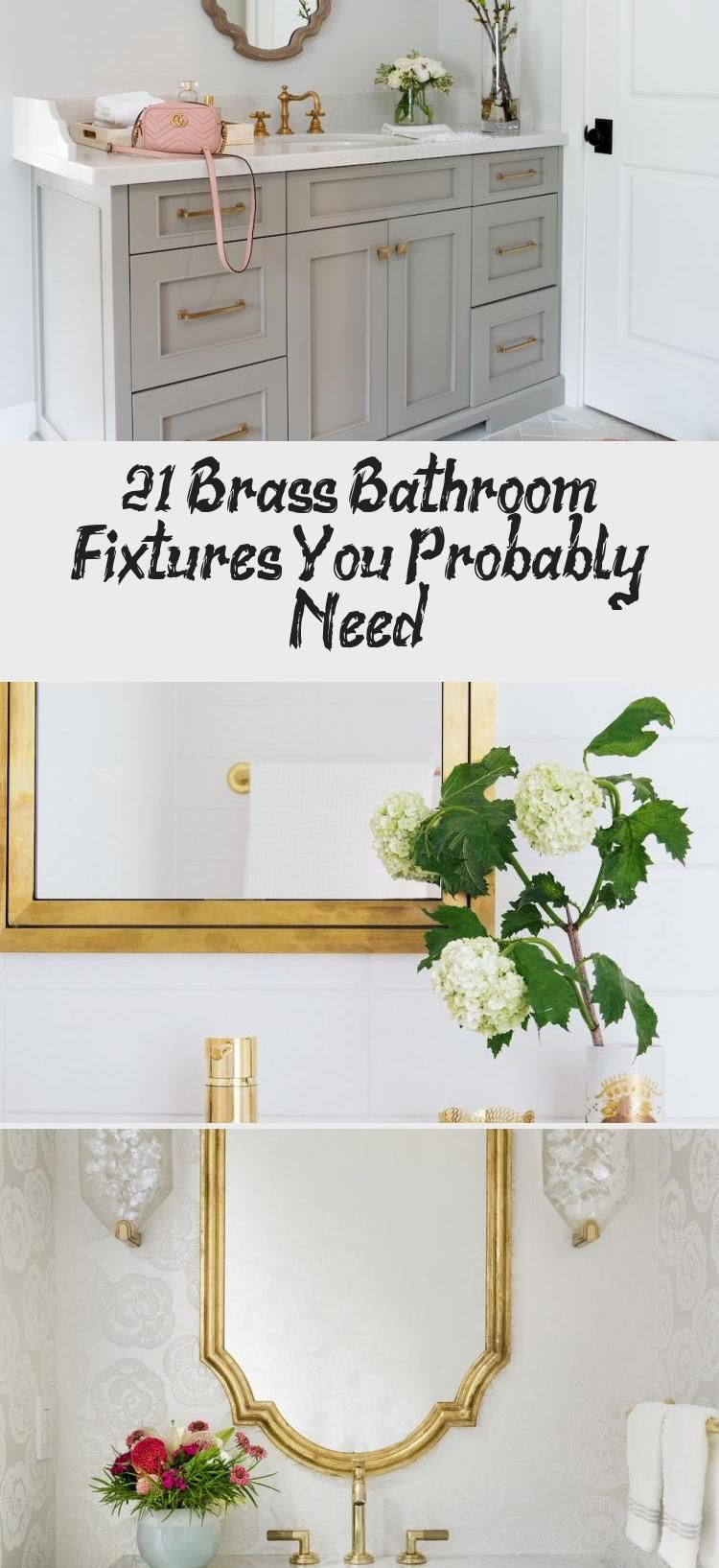 Photo of 21 Brass Bathroom Fixtures You Probably Need – Home Decoration