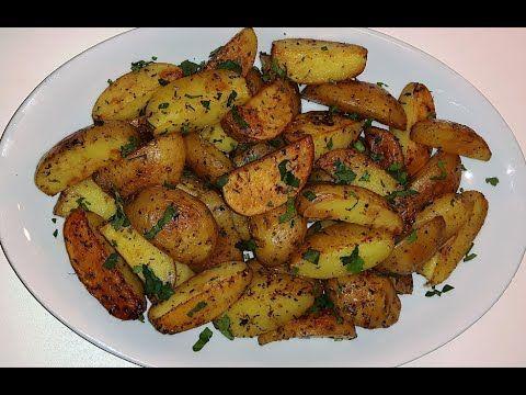 بطاطس محمرة في الفرن لذيذة و سريعة التحضير Cooking Potatoes Homemade Recipes
