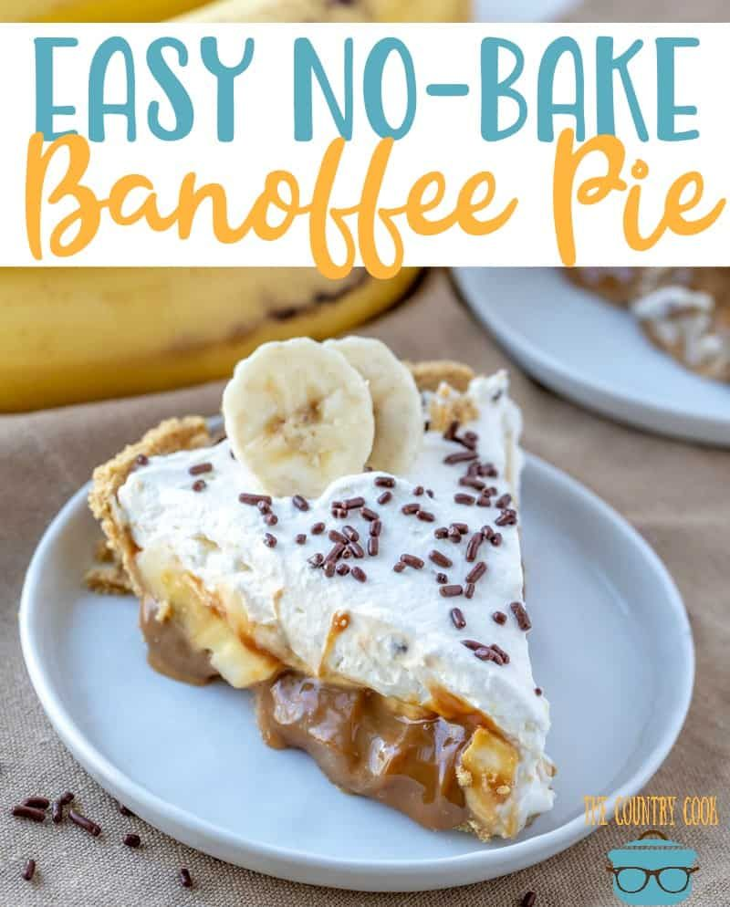 The Best Banoffee Pie Video The Country Cook Recipe Banoffee Pie Banoffee Pie Recipe Easy Pie Recipes
