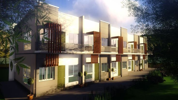 2Storey Apartment House styles, House design, Building