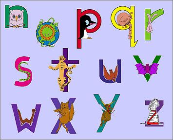 It's just a photo of Peaceful Zoo Phonics Printable