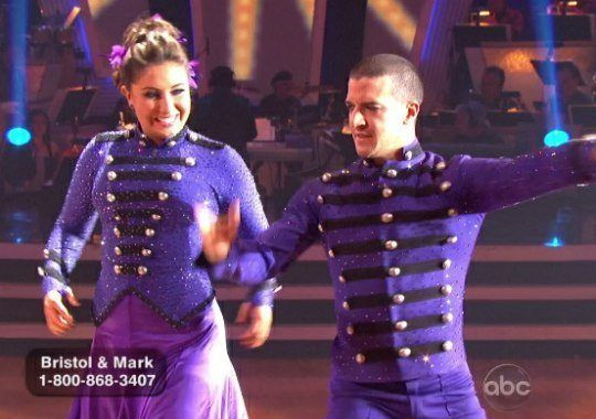 DWTS Season 11 Fall 2010 Bristol Palin and Mark Ballas