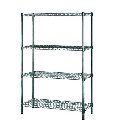 Excel Four Shelf Es Wire Shelving Unit Wire Shelving Units Wood Storage Shelves Wire Shelving