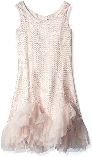 e29536c2ec Biscotti Big Girls Glitz and Glam Dress with Net Ruffle Hem Champ 16    Visit the image link more details. Note It is affiliate link to Amazon.