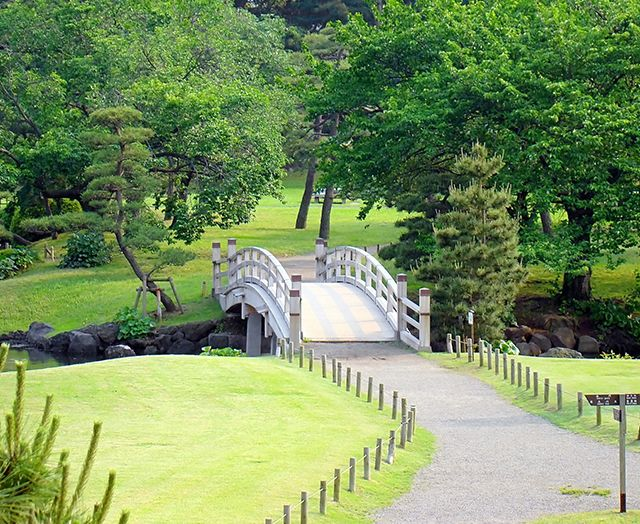 Los magníficos jardines japoneses de Hamarikyu Jardines japoneses