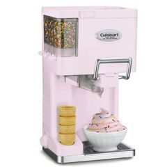 """Introducing Pantone Color of the Year 2016: baby pink """"Rose Quartz"""" and baby blue """"Serenity."""" Shop the pastel color trend with our ice cream maker machine"""