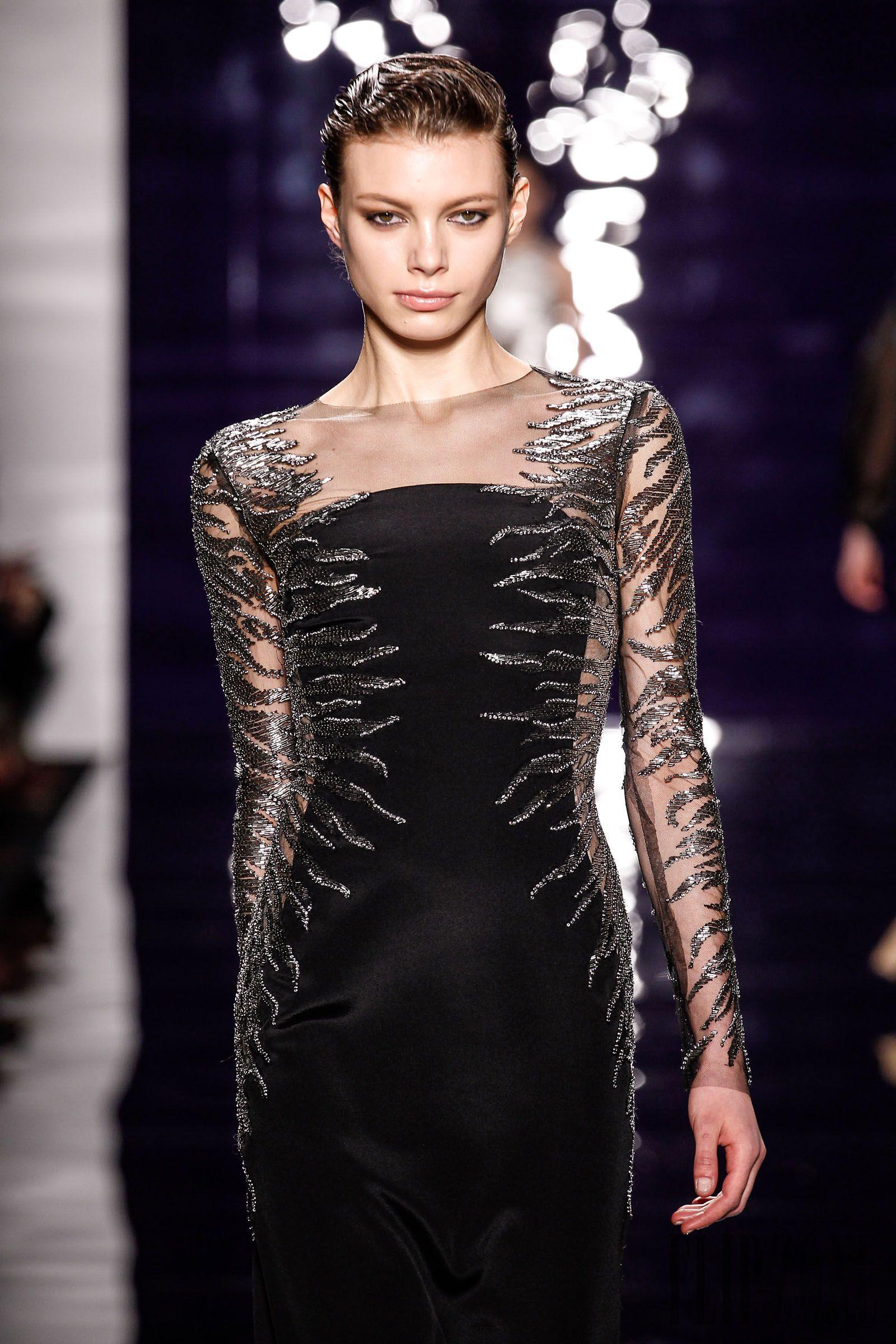 Reem Acra FallWinter 2014-2015 Collection – New York Fashion Week