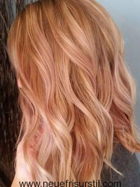 rose gold blonde balayage 450x600 poppy in 2019. Black Bedroom Furniture Sets. Home Design Ideas