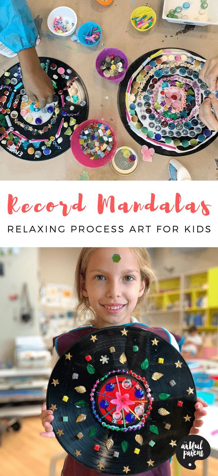 These Record Mandalas for Kids Are the Perfect Way to Relax & Unwind