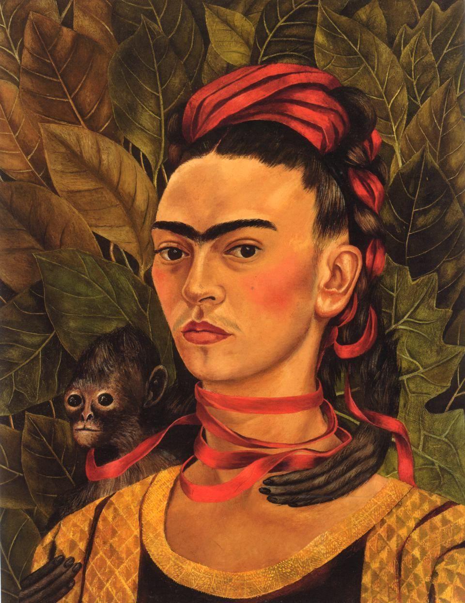 Frida Kahlo, Self-Portrait with Monkey , 1940 | frida | Pinterest ...