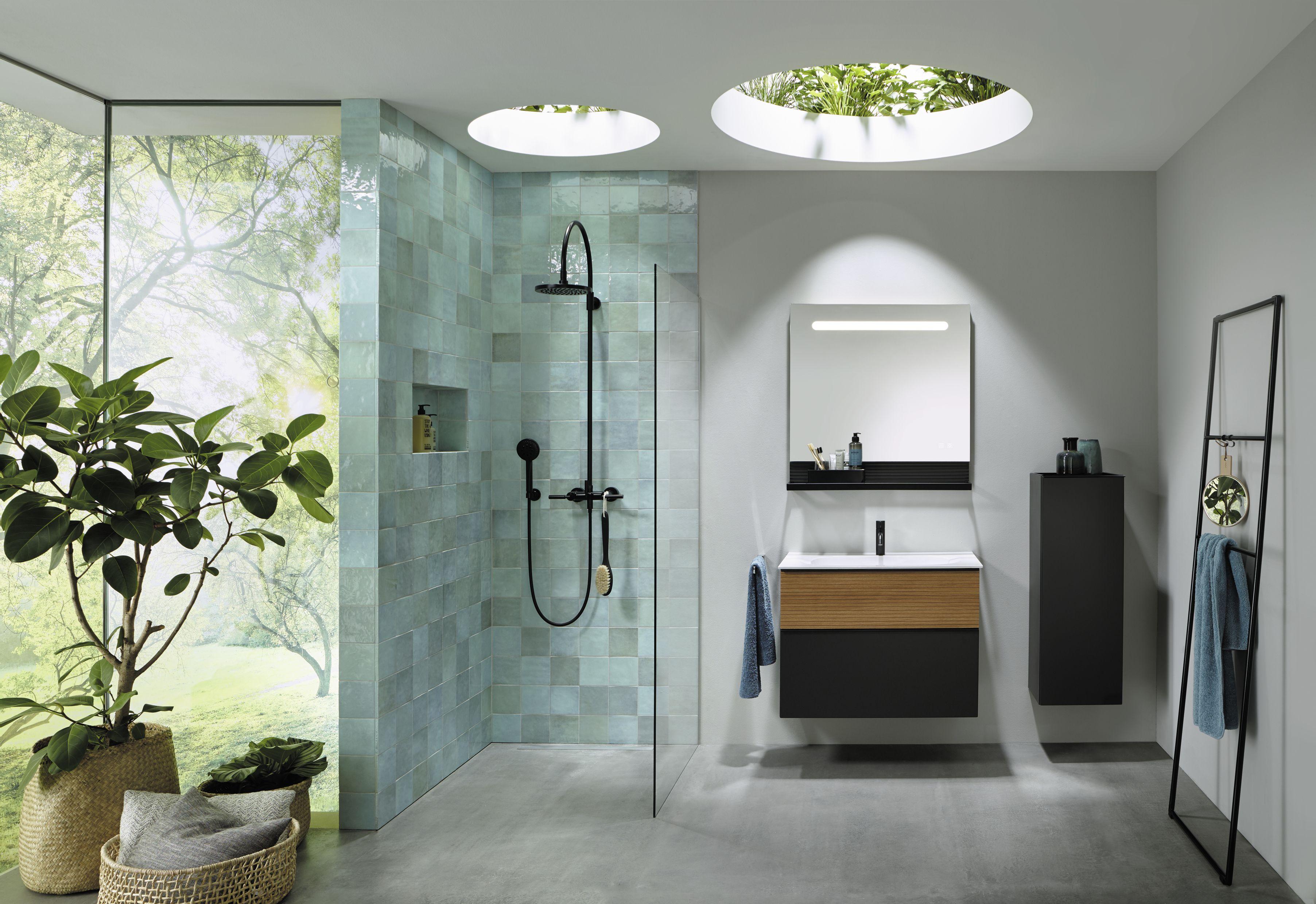 Burgbad Badmobelprogramm Fiumo Badezimmer Planen Drinnen Badezimmereinrichtung