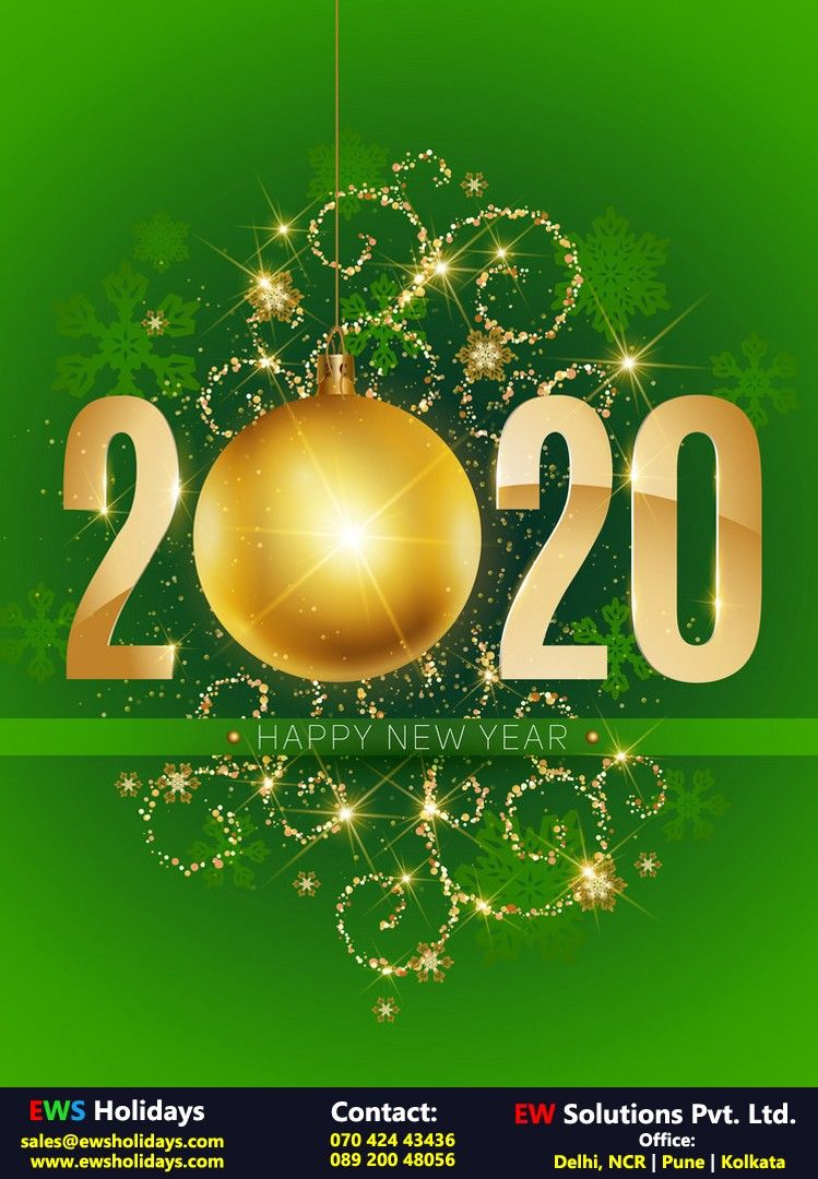 Happy New Year 2020! in 2020 Holiday packaging, India