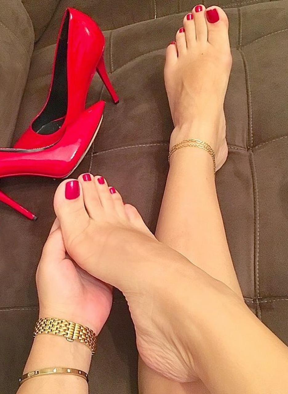 sexy Füße und Zehen