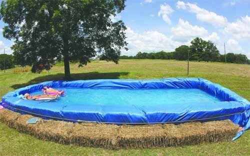 Realizzare una piscina interrata economica e fai da te for Recinzione economica fai da te
