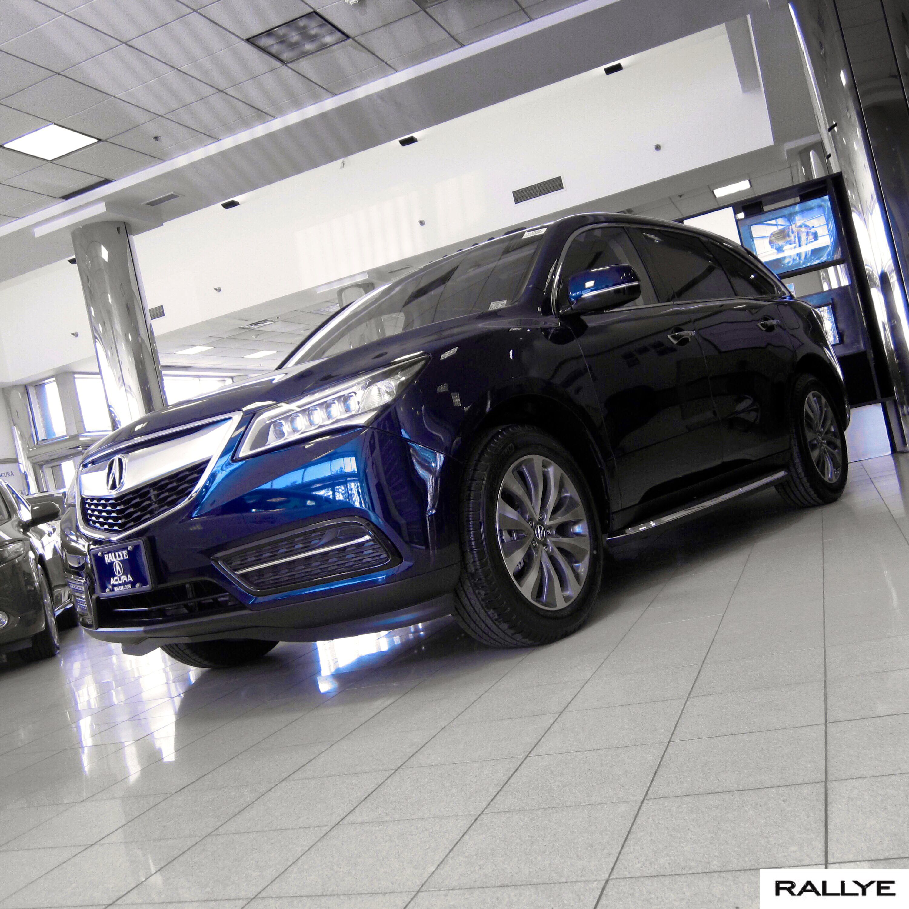The Bold Stance Of The #2014 #acura #mdx