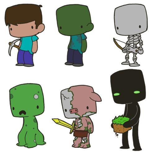 Minecraft Cartoon Zombie Minecraft In Cartoon Version My Favorite Is The Zombie Pigman