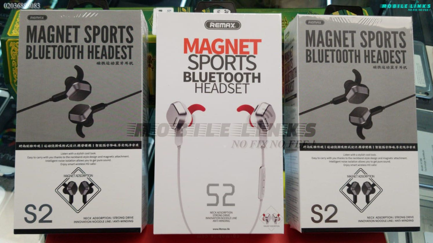 Sports bluetooth headsets available at mobile links