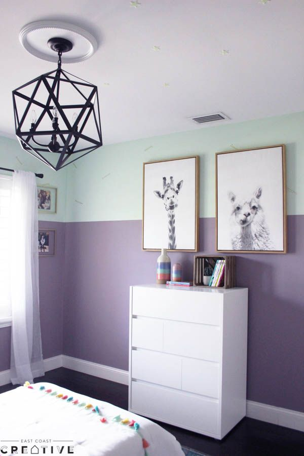 Here S A Little Twist On Repainting A Room Try Painting Your