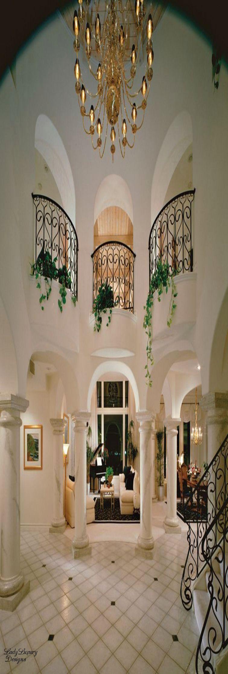 million dollar interiors ladyluxurydesigns dream homes million dollar interiors ladyluxurydesigns entrance foyergrand entranceluxury homes