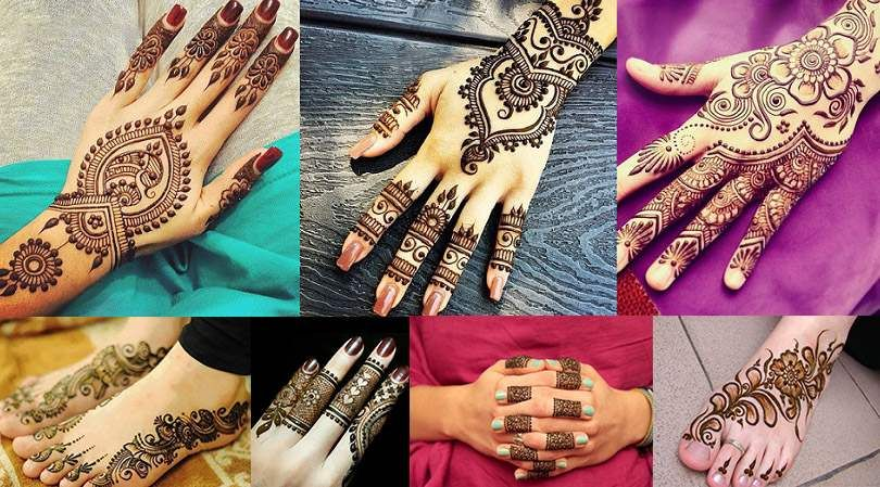 Easy Mehndi Ideas : Simple and easy mehndi designs for eid