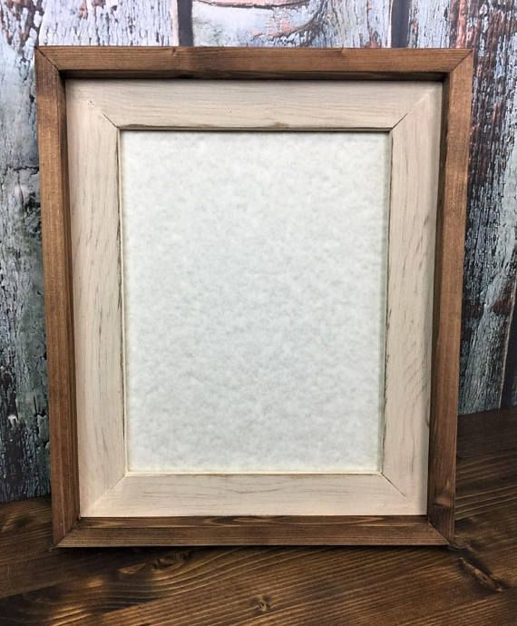 This beautiful frames overall dimensions are 15 x 18 inches. The ...