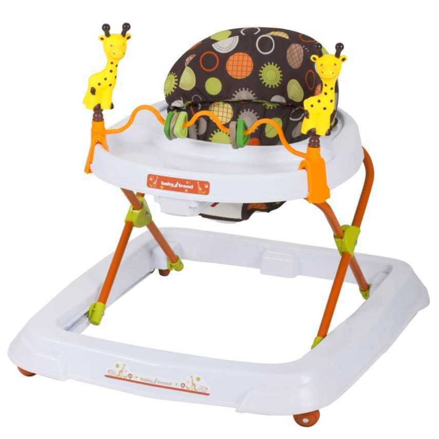 Baby Trend Walker Safari Kingdom Food Toy Play Three position Large ...
