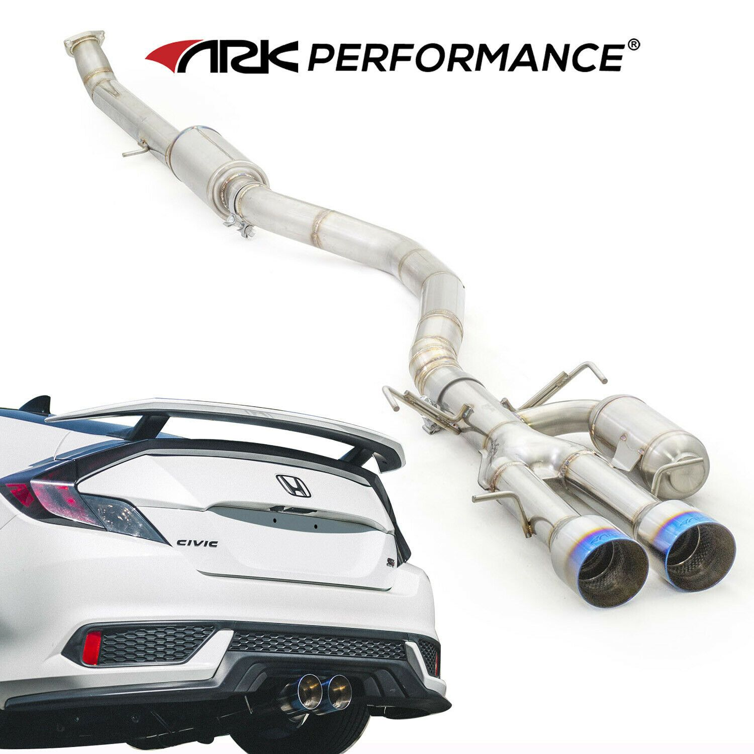 ark exhaust exhausted honda civic si