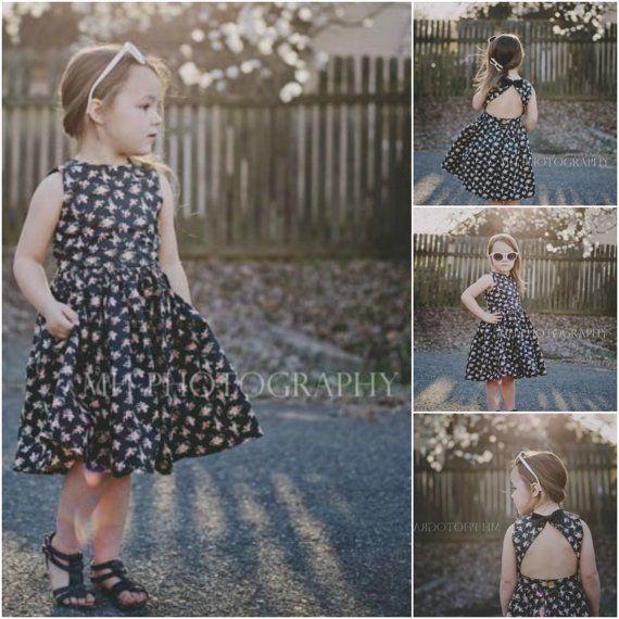 Dress Sewing Pattern The Appelstroop Dress by TheEliMonster