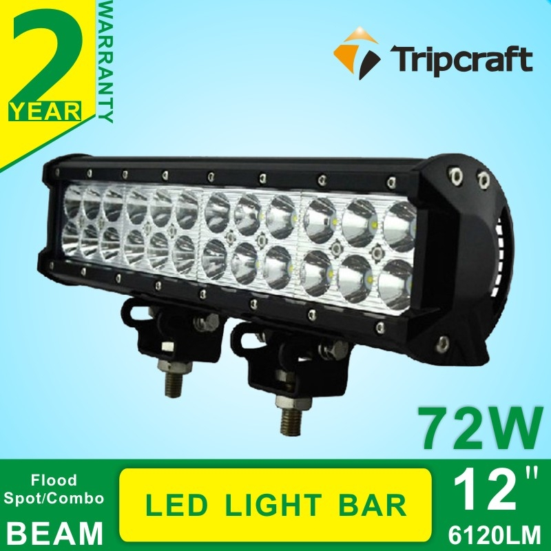 102 75 Watch Here Offroad Ramp Lamp 2pcs 12inch 72w Led Light Bar For Work Driving Boat Car Truck 4x4 Suv Atv S Led Light Bars Bar Lighting Led Work Light