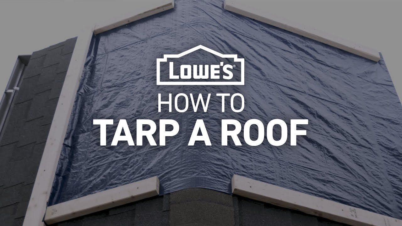 How To Tarp A Roof Severe Weather Guide Roof Roof Problems Severe Weather