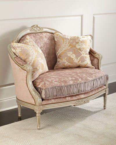 Massoud Scarlett Settee Settee Furniture Furniture Shabby Chic